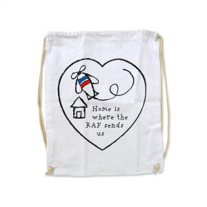 Home Is Where The RAF Sends Us – Cotton Duffel Bag