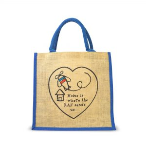 Home Is Where The RAF Sends Us – Jute Bag
