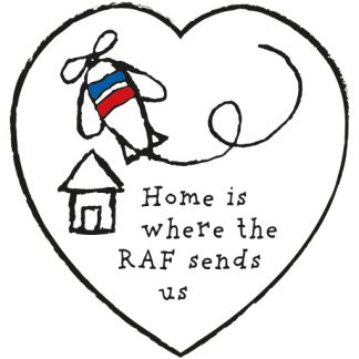 Home Is Where The RAF Sends Us